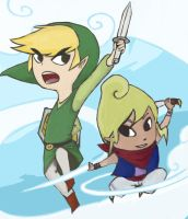 The Wind Waker by PowHammer