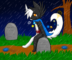.:+In that Lonely Graveyard+:. by Inukage-Okami