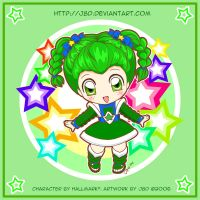 Chibi Patty O'Green by J8d