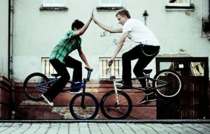 BMX friends by Krawat93