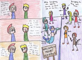 The Iliad - Pages 3 + 4 by EnigmaticPenguin