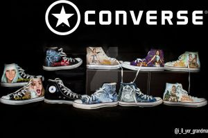 My Converse collection by that-damn-ash-kid