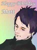 Happy Birthday Matt!! 6/9 by runner-painter