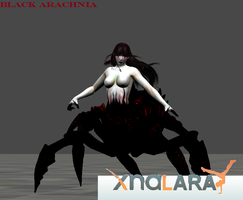 Black Arachnia Mod for XNALARA by Kaiology