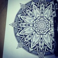 Solstice Mandala Project Day001 by OrgeSTC