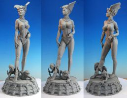 Queen of the Dead original sculpt1 by MarkNewman