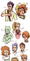 Rugrats parents and kids dump by Leerer-Raum