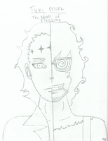 2 Faced Tyki Mikk- uncolored by team-kataang