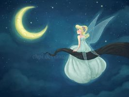 Moonlight fairy by Chpi
