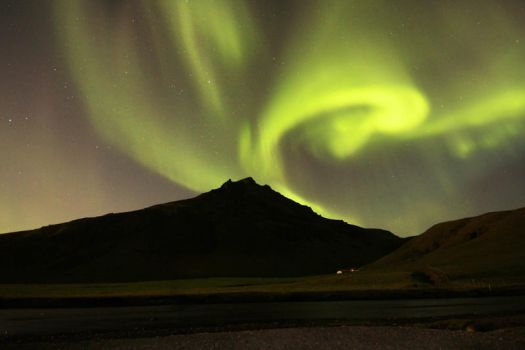 Northern Lights, Iceland by cwaddell