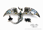 Arabesque Dragon by rosepeonie