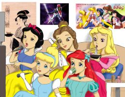 Disney Princess Karaoke by Anime-Ray