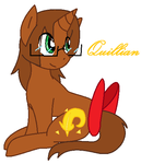 Just a drawing of Quillian by sqeakii00
