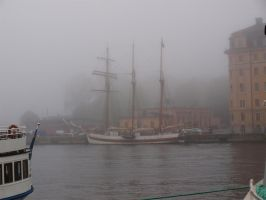 Stockholm Misty Morning 09 by Luddox