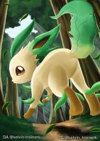 Leafeon by kelvin-trainerk