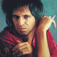 KEITH RICHARDS by JALpix