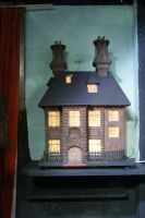 Spooky Doll House by Jaspersmum