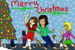 happy merry pretty christmas by cosmosse1