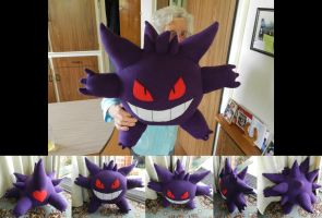 PLUSH GENGAR YEEE by channellehazel