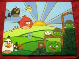 Angry Birds by tombraidervcroft