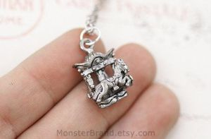 Carousel Necklace by MonsterBrandCrafts