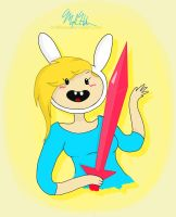 Fionna the Awesome by hobbesme