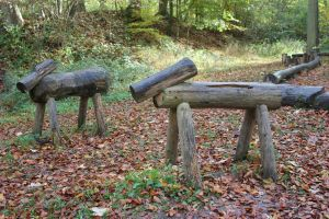 Wooden Horses feeling lonely by frits10a