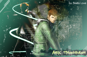 Ark Thompson Wallpaper by BriellaLove