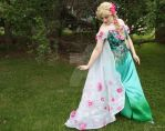 Elsa Frozen Fever by mystic-fae