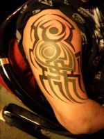 Tribal add by KaraMiaTattoos