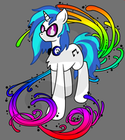 Vinyl Scratch T-shirt design by Th3Stargazer