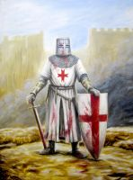 The Crusader Knight by Wideen