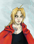 Edward Elric by SmudgeThistle