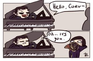 dishonored 2, doodles 9 by Ayej