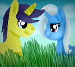 .:Request:. Comet Tail x Trixie by Sabrina-Tellijohn