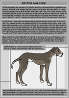 BTDC - Breed Sheet One by Falconicide