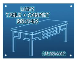 SimpleTableBrushes by Luvelia