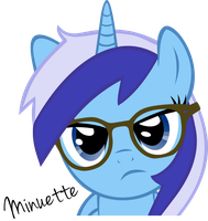 Minuette (It's a hipster thing!) by Cwossie