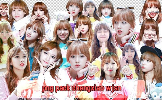 [PNG PACK] WJSN - CHENGXIAO #02 by cindytadev