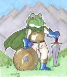 Chrono Trigger Frog by hillary86