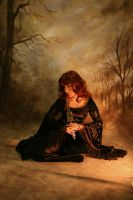 Seated with Dagger : Stock by Ange1ica-Stock
