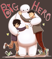 Big Hero 6 by miyu96