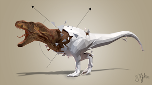 Geometric-trex-HD by wildman1411