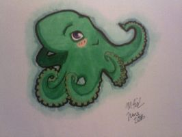 Octopus by Fishieart