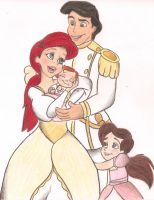 If Ariel Had A Family... by x--Lauren--x