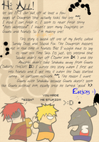 Sandy Dogs: Authors Notes by Tanuki-Of-Yaoi