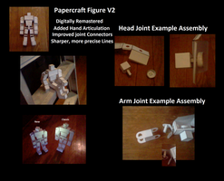 Papercraft Figure V2 Build and Instructions by Collecter128