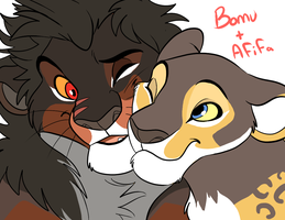 Bomu and Afifa by MalisTLK