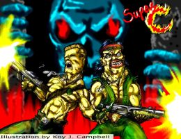 Super Contra by NM8R-KJC
