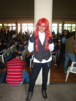 Grell cosplay by chichusan